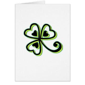 Irish Luck Greeting Card