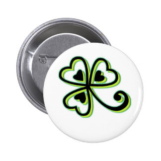 Irish Luck Pinback Buttons