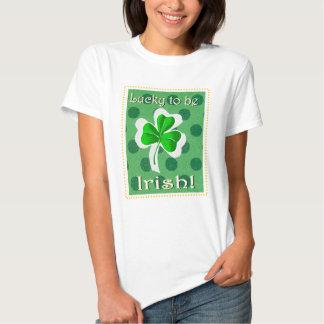 Irish Luck womens tee