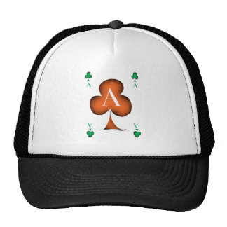 Irish 'Lucky' Ace of Clubs by Tony Fernandes Cap