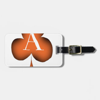 Irish 'Lucky' Ace of Clubs by Tony Fernandes Luggage Tag