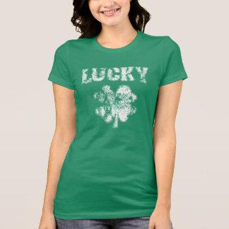 Irish Lucky Shamrock Tshirt
