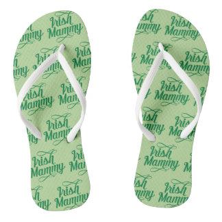 Irish Mammy Flipflops, Irish Dialect, Ireland Thongs