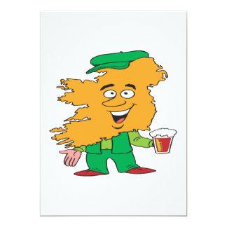 Irish Man 5x7 Paper Invitation Card