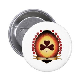 Irish Mandorla Button