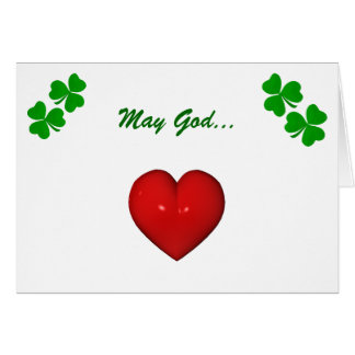 Irish Marriage Blessing Card