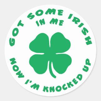 Irish Maternity Gift Stickers