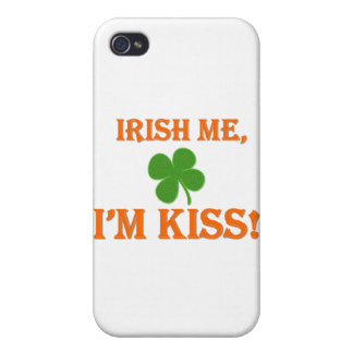 Irish Me I'm Kiss iPhone 4/4S Cover