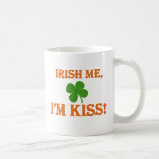 Irish Me I'm Kiss Basic White Mug