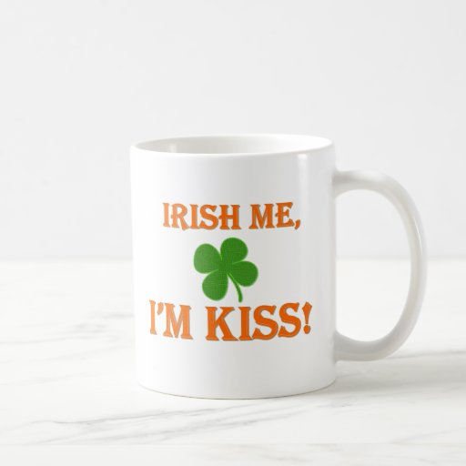 Irish Me I'm Kiss Mugs