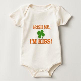 Irish Me I'm Kiss Baby Bodysuit