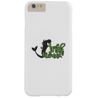 Irish Mermaid ST Patrick's Day Funny Girl Women Barely There iPhone 6 Plus Case