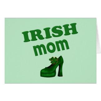 Irish Mom With High Heel Cards