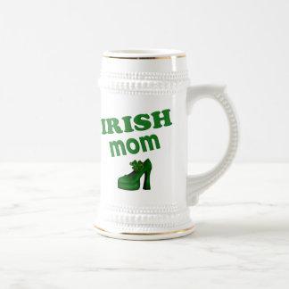 Irish Mom With High Heel Coffee Mugs