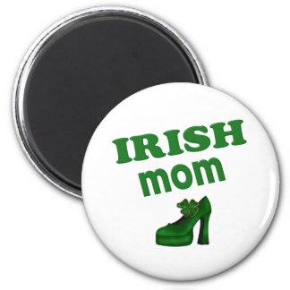 Irish Mom With High Heel Fridge Magnet