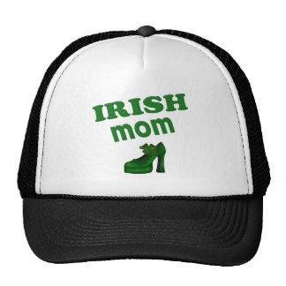 Irish Mom With High Heel Hat