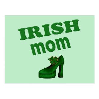 Irish Mom With High Heel Post Cards