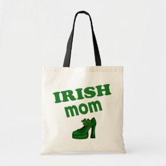 Irish Mom With High Heel Tote Bag