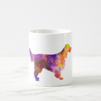 Irish Network Setter 01 in watercolor 2 Coffee Mug