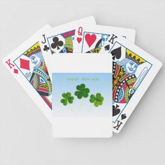 Irish New-Years-Day Bicycle Playing Cards