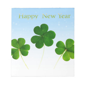 Irish New-Years-Day Notepad