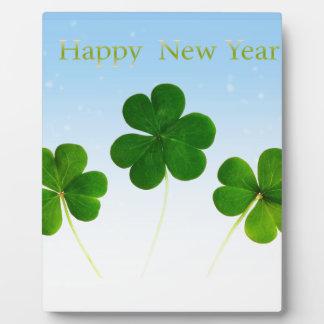 Irish New-Years-Day Plaque