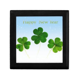 Irish New-Years-Day Small Square Gift Box