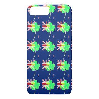 Irish New Zealand Flag Shamrock Clover St. Patrick iPhone 8 Plus/7 Plus Case