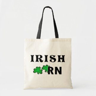Irish Nurse RN Tote Bag
