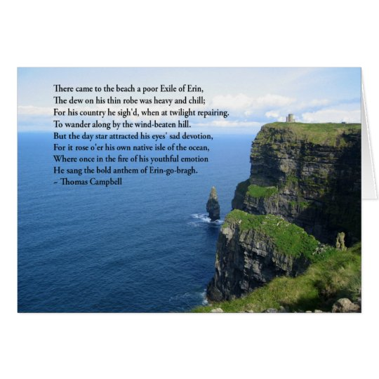 Irish  Ocean Card
