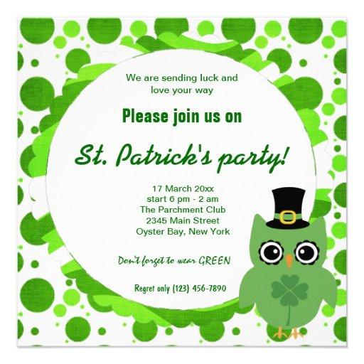 Irish Owl Announcement