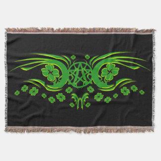 Irish Pagan Throw Blanket