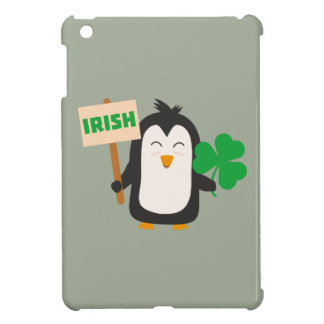 Irish Penguin with shamrock Zjib4 Case For The iPad Mini