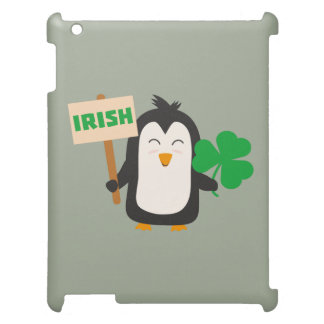 Irish Penguin with shamrock Zjib4 Cover For The iPad 2 3 4