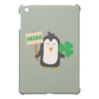 Irish Penguin with shamrock Zjib4 iPad Mini Covers