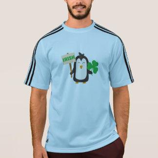 Irish Penguin with shamrock Zjib4 T-Shirt