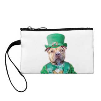 Irish Pitbull Dog Coin Purse