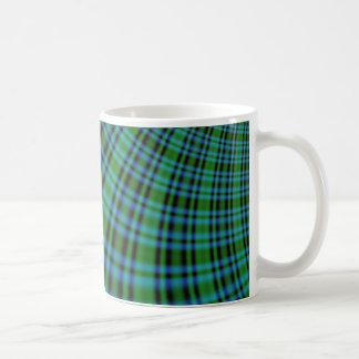 Irish Plaid Coffee Mugs