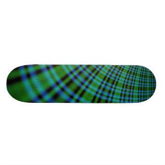 Irish Plaid Skateboard