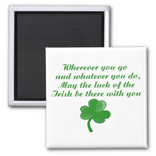 Irish Poem Magnet