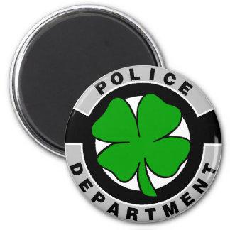 Irish Police Officers 6 Cm Round Magnet