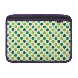 Irish Polka Dots Sleeve For MacBook Air