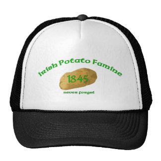 Irish Potato Famine - Never Forget! Cap