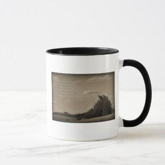 Irish Prayer on a coffee cup in sepia tone gift