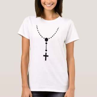 irish prayer rosary bead T-Shirt