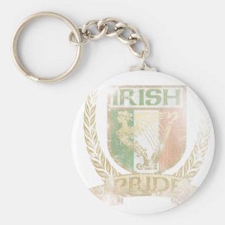 Irish Pride Crest Keychains