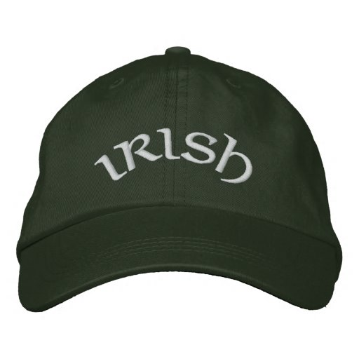 Irish Pride Embroidered Baseball Caps