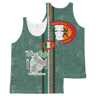 Irish Pride Hawaiian Style Tank Top All-Over Print Tank Top