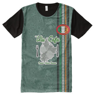 Irish Pride Hawaiian Style Tshirt All-Over Print T-Shirt