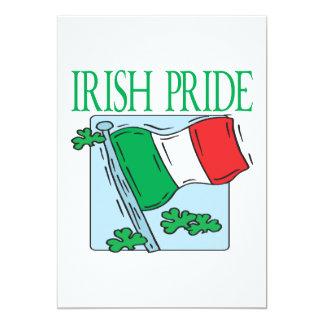"Irish Pride 5"" X 7"" Invitation Card"